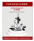 BMW E39のための自動車部品のABS車輪スピードセンサ第34521182159