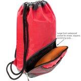 Водонепроницаемая ткань купаться PE спортзал спортивные сумки шнурком Sackpack рюкзак