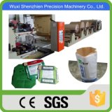 China bolsa de papel Kraft de empaquetado automático que hace la máquina