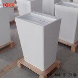 Kingkonreeの支えがない人工的な石造りの樹脂の浴室の流し