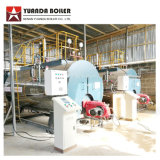 0.5-6 Wns toneladas de gás/petróleo caldeira de vapor/diesel para a fábrica de vestuário