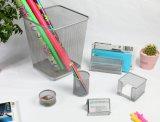 Металлический сетчатый Office Desk данные органайзера Waste Bin держатель пера в офисе