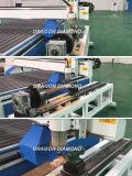 独立した回転式装置が付いている4つの軸線CNC機械を切り分ける人間の顔木