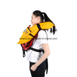 Nylon Risingsun / Chaleco salvavidas inflables de TPU OEM Logotipo personalizado