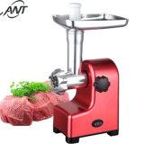 Horno eléctrico triturador de carne de pescado con la bandeja de metal