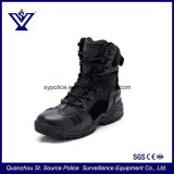 Высокая лодыжки стильный кожаный чехол Sport тактических полицейских защитные ботинки для военных (SYSG-125)