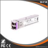 Netwerken sfp-1g-ex-80 van Arista de Compatibele module van de 1000BASE-ZXSFP 1550nm 80km zendontvanger