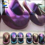 Miroir Pigment caméléon voiture peint de pulvérisation le Pigment manucure Nail Art Chrome Pearl Pigment