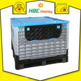 Boîte de rangement de l'industrie conteneur de vrac pliable avec couvercles