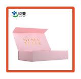Caja de regalo personalizados de papel resistente al agua con lámina de oro