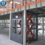 stazionari elettrici idraulici di 5000kg 1.6m Scissor l'elevatore di merci/gli elevatori carico di Fixted