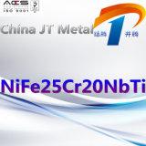 Nife25cr20nbti de Leverancier van China van de Plaat van de Pijp van de Staaf van het Staal van de Legering