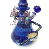 Tubo de vidrio de 4 piezas Conjunto Waterpipe vaso con Bowl& Dabtool Wholesale
