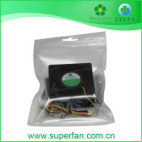 6025 60*60*25mm 5V 12V DC DC sin escobillas Ventilador Axial Ventilador de refrigeración