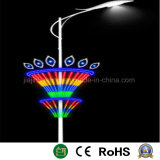 Polo de la ronda de la luz de la decoración de la calle de la luz