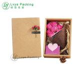 Vakje van het Document van de Bloem van de Verpakking van de Gift van de Gift van de bloem het Vastgestelde
