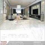 Cristal blanco de Carrara de cuerpo completo material de construcción de Baldosa Cerámica Mármol (VRP8F878, 800x800mm/32''x32'')