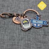 Großhandelsfabrik-Preis-kundenspezifisches Abzeichen-Reverspin-Flugzeug-Schlüsselkette