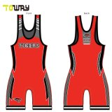 Canottiere Personalizzate Sublimate Red Wrestling Mens