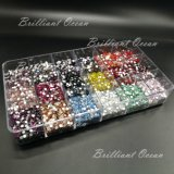 Multicolor brillando Rhinestones para decoración Nail Art