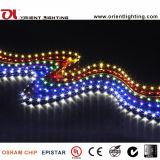 SMD 335 120 LEDs/Mの側面図適用範囲が広いLEDのストリップ