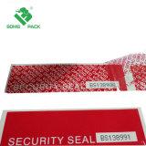 Verpakking die van de Band van de Veiligheid van de Band van de antiStamper de Duidelijke Band met Serienummer vastbinden