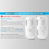 Rilevazione infrarossa senza fili di movimento del rivelatore di movimento del sensore dell'allarme PIR (D2A)