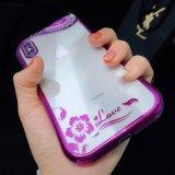 iPhoneのためのカスタムきらめきのBling TPUの電話箱の保護装置