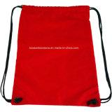 OEM Custom logotipo impreso de la bolsa de cordón de algodón del fabricante de la bolsa de Gimnasio de Deportes