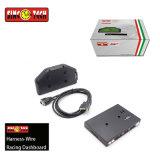 При установке универсального автомобильного манометры ЖК-дисплей цифровой гоночной машины калибры для 1 - 8 номер цилиндра