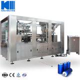 3000cph automatique de la Bière et boissons gazeuses peuvent l'embouteillage de boissons de jus de la CDD usine d'emballage de la machine de remplissage