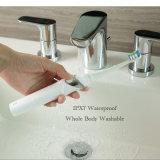 Resistente al agua IPX7 de carga inalámbrica 800mAh bambú cepillo de dientes eléctrico recargable