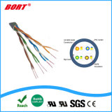 El cable coaxial RG59 con el poder/ RG59+2c CCTV Cable UTP Cat5e