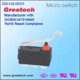 Mini Waterdichte Micro- 3A Schakelaar IP67 met de Hefboom van de Rol voor de Automatische Controle van de Auto