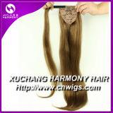 L'harmonie Stock enrouler autour de cheveux humains Queue de Cheval (HMHR-PT)