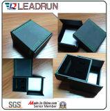 Caixa de armazenamento de jóias de veludo de couro Lembrança Presente Caixa de presente de embalagem de bainha de punho (CPB10)