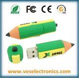 주문을 받아서 만들어진 부속품 8GB PVC USB Pendrive USB 섬광 드라이브