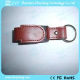 2017 New Design Leather Keychain USB Flash Drive (ZYF1424)