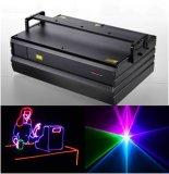 3W RGB 생기 레이저 광