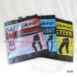 Qingdao Jinlong Jimo sac en plastique de l'OPP de l'habillement de l'emballage, maillot de bain/masque de sous-vêtements//Sac Chaussettes