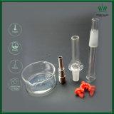 金属の管ガラスの煙る配水管が付いている煙るアセンブルされたガラス管
