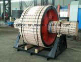騒音のロータリーキルンの回転楕円面状グラファイトの鉄の上部転輪を下げなさい