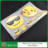 Qingyi Texitle를 위한 도매 좋은 가격 열전달 스티커