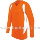Healongのチームクラブのための安い価格のワイシャツのカスタムバレーボールジャージー