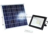 10With20With30With50W屋外の庭の機密保護の照明のための太陽動力を与えられたリモート・コントロール洪水ライト