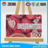 Оптовая визитная карточка PVC пластмассы для рекламировать