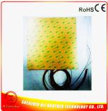 Calentador de silicona para impresora 3D 220V 650W 425 * 425 * 1.5mm 3m Adhesivo