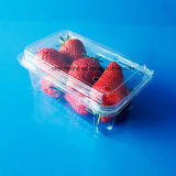 Bandeja de empaquetado de la fruta fresca del animal doméstico para el arándano /Strawberry250gram