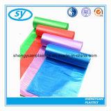 LDPE/HDPEのプラスチック多色刷りのごみ袋