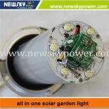 Lampe solaire fraîche de jardin du blanc 12W LED
